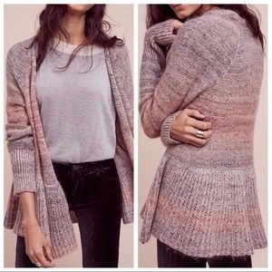 Knitted & Knotted • Cody Peplum Cardigan